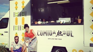 The Comida do Sul Brazilian truck faces an uncertain future at Leighton Beach.