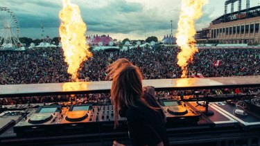Alison Wonderland become the first woman to headline at the Electric Daisy Carnival festival in the US this year.