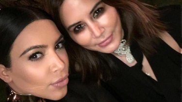 Sharon-Lee counts the Kardashians among her celebrity clients.
