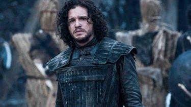 John Snow in HBO's <i>Game of Thrones</i>.