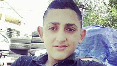 Missing, feared dead: Mahmoud Hrouk.
