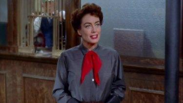 Joan Crawford in the 1954 film Johhny Guitar.