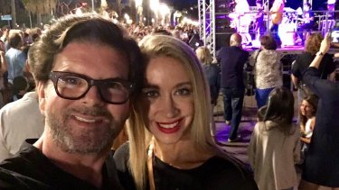 Marcus Freeman and wife Sally-Anne in Nice during Bastille Day celebrations moments before the attack. A glamorous, innocent and tolerant crowd was torn apart, literally, by a terrorist attack.