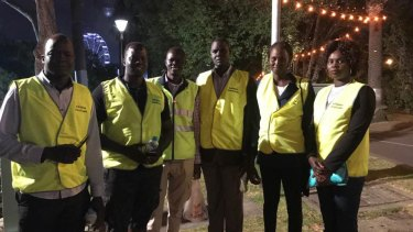 South Sudanese community leaders in fluoro vests will be at Moomba.