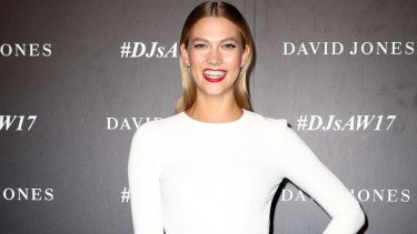 Top model and BFF of many a millionaire, Karlie Kloss, was in town for David Jones this week.