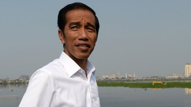 'No second chances': Indonesian President Joko Widodo.