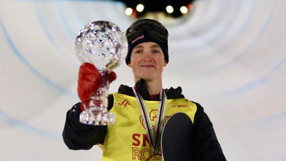 Scotty James claims snowboard halfpipe World Cup title