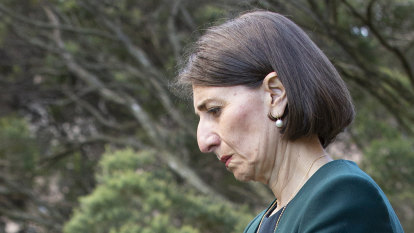 Surprise! Berejiklian takes part in a time-honoured political tradition