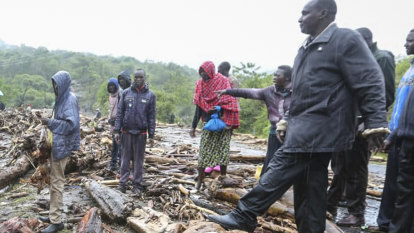 Dozens killed by landslides in Kenya