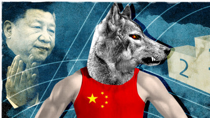Xi Jinping and his gold-meddling flunkies