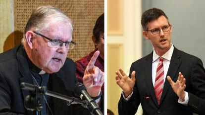 'I'm deeply disturbed': Minister condemns Archbishop's claims