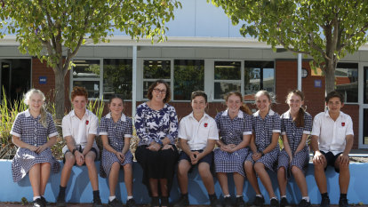 Moama school principal says hard border wall would force remote learning return