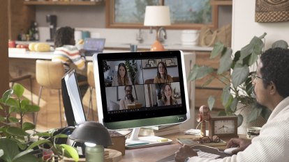 A pleasant, pricey monitor to help you look your best on video calls