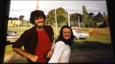 Young Brendan and Glendah Halliday.