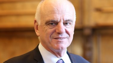 David Nabarro is competing to be named the next director-general of the World Health Organisation.