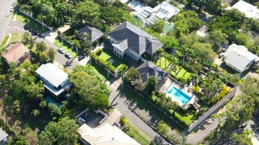 """Brisbane's iconic """"Pink Palace"""" at 276 Swann Road, St Lucia, will be demolished."""