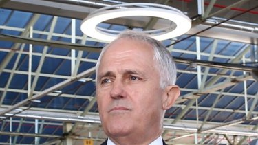 Prime Minister Malcolm Turnbull would appreciate a halo effect from the campaign like the one he got at Adelaide's Flinders University on Friday.