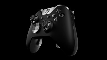 The Xbox Elite Wireless controller.