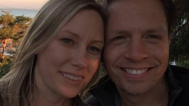 Justine Damond and her fiance Don Damond.