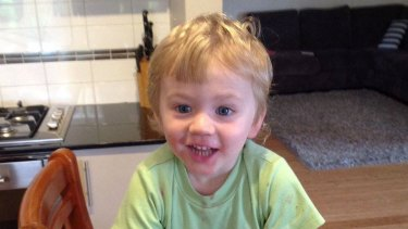 A memorial will be built to remember two-year-old Sam Trott.