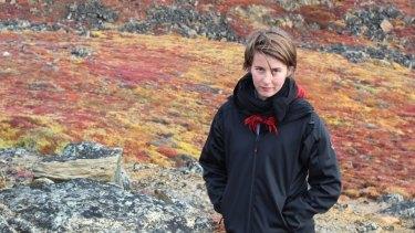 Danish student Rebekka Meyer.