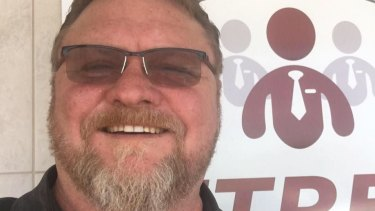 """It's locker room talk, mate, that's all it is"": Richard Eldridge defended his tweets to Fairfax Media."