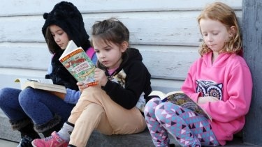 Young readers at last year's Sydney Writers' Festival.