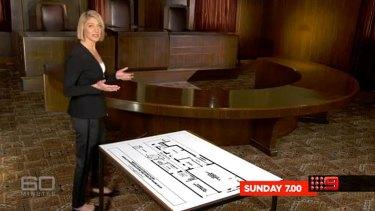 Tara Brown returned to 60 Minutes on Sunday night.
