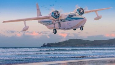 The 1948-built twin engine seaplane was Mr Lynch's pride and joy, a craft he referred to as the 'family caravan'.