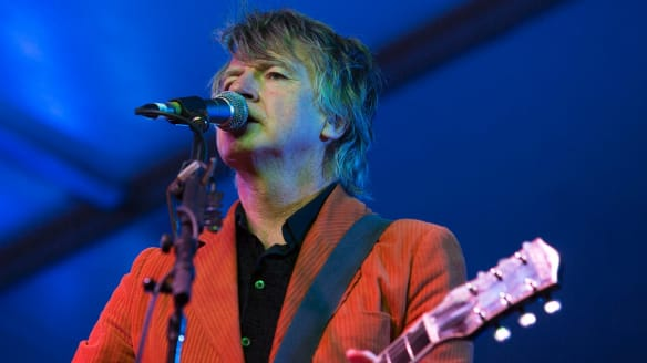 Neil Finn was one of the attractions at the Riverboat Festival.