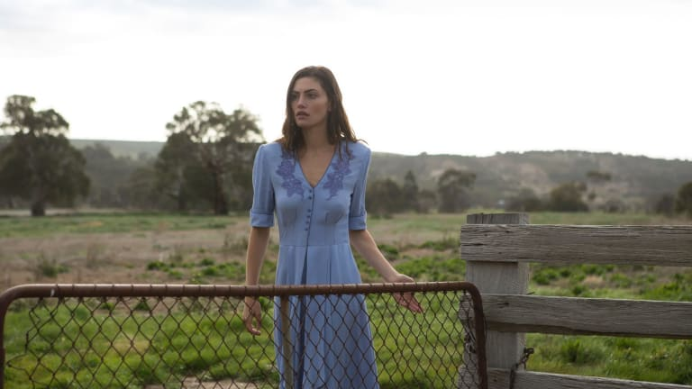 Phoebe Tonkin stars in the new Australian drama, Bloom.