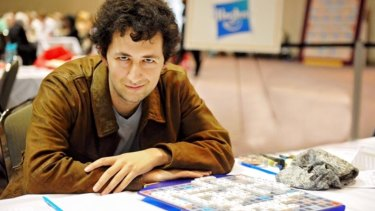Australian-born world scrabble champion David Eldar is ranked second in the world.