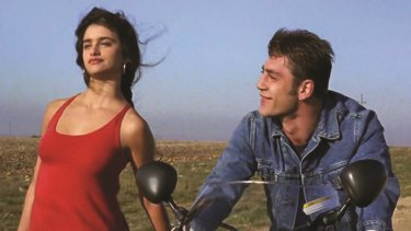 Penelope Cruz and Javier Bardem in Jamon Jamon.
