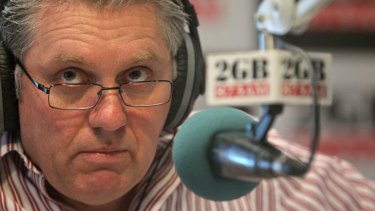 Ray Hadley, who ran a campaign against the previous bail laws.