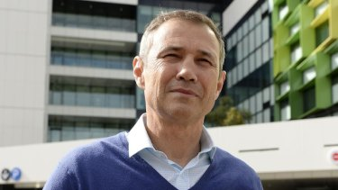 Health minister Roger Cook will oversee the construction of a medihotel next to Fiona Stanley Hospital.