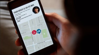 New service from Domino's will let you track your pizza to your door while getting to know your delivery driver.