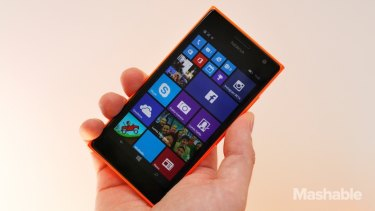 End of an era: The Lumia 730 will be one of the last phones to carry the Nokia brand.