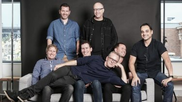 The photograph that started it all: Leo Burnett shows off its new hires.