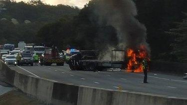 Major crash on M1