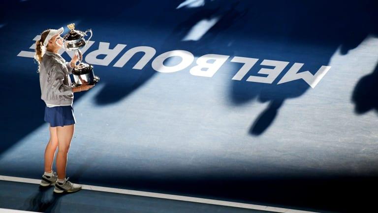 Showpiece: Caroline Wozniacki's gripping victory in the women's singles final showed the Australian Open at its finest.