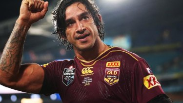 Last stand: Johnathan Thurston says this year will be his last for Queensland.