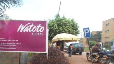 Exterior of a Watoto Church in Kampala, Uganda.