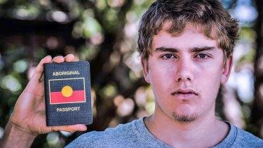 Aboriginal rights campaigner Callum Clayton-Dixon.