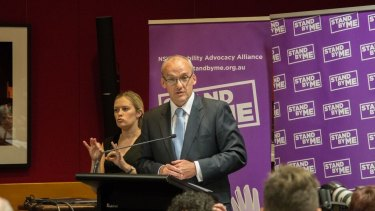 Luke Foley says funding will continue in some form under a Labor government.