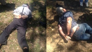 Gino and Mark Stocco were arrested 20 kilometres outside Dunedoo in central western NSW.