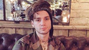 Boy band singer James McElvar was hospitalised after passing out on an easyJet flight.