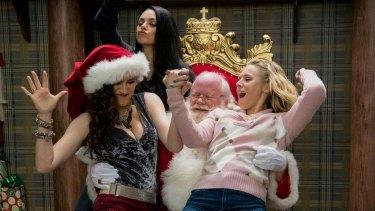 Bad Moms hang with Bad Santa.