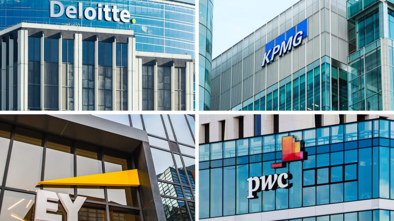 PwC, KPMG, EY and Deloitte hit by 457 changes