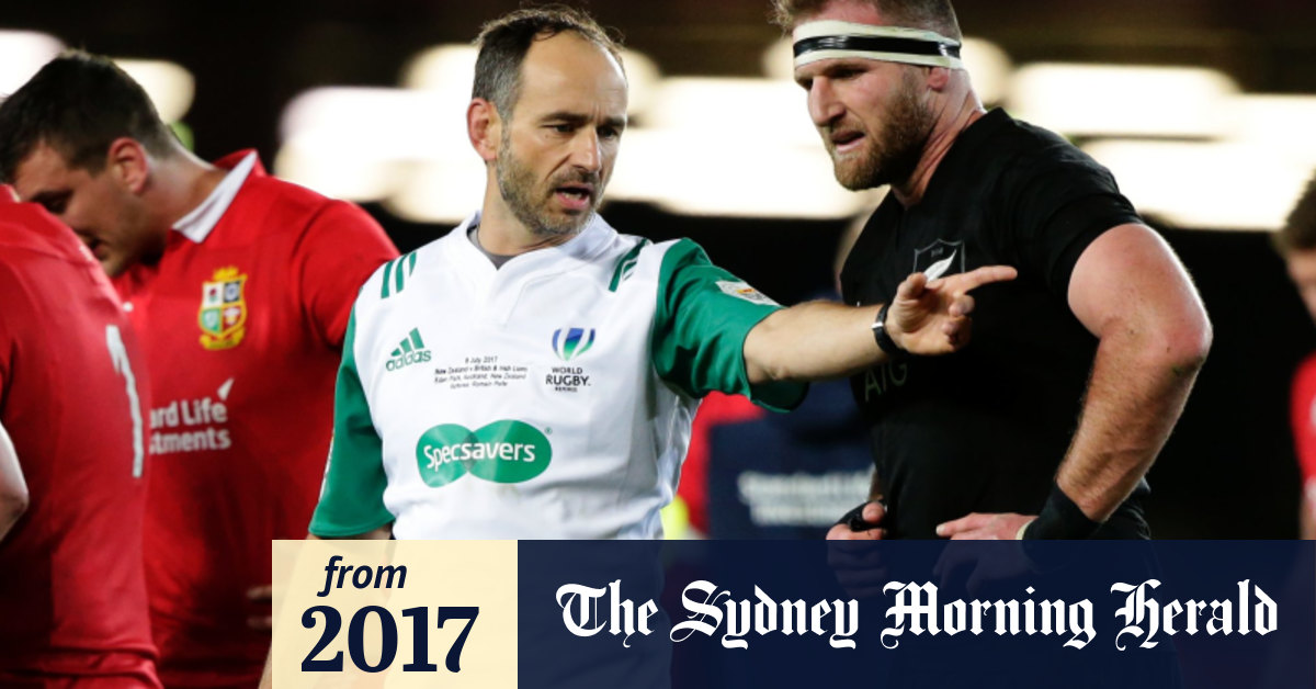 World Rugby Must Front On Romain Poite S Failure To Award All Blacks Penalty