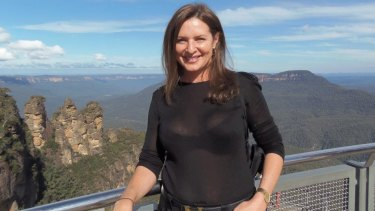 Nadia Cameron in the Blue Mountains.